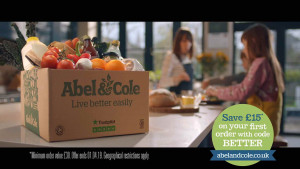 abel and cole advert
