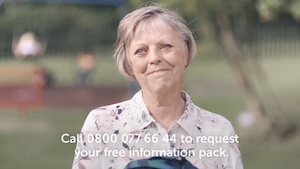 cancer charity advert